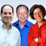 David Julius, Linda Watkins y Baruch Minke