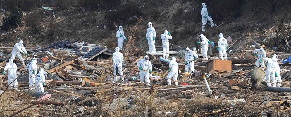 Los héroes de Fukushima