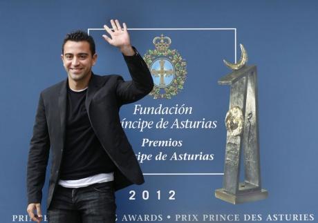Iker y Xavi llegan a Oviedo
