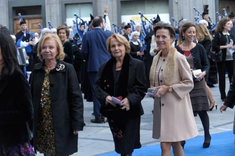 La alfombra azul de los Premios Príncipe 2012