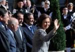 La Reina llega a Oviedo en medio de un gran ambiente