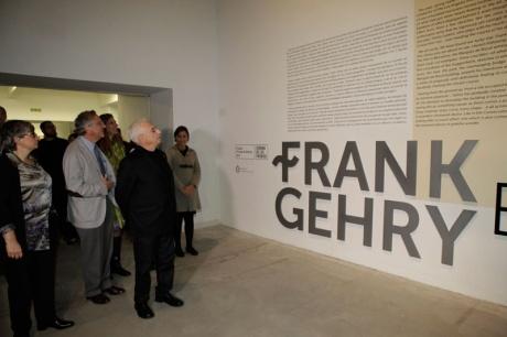 Encuentro entre Gehry y Moneo en Gijón