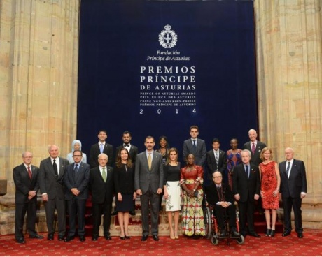 """Los últimos premios """"Príncipe de Asturias"""""""