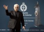 Frank O. Gehry baila al son de las gaitas en su llegada a Oviedo